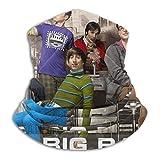 The Big Bang - Pañuelo para el cuello, reutilizable, lavable, tela para motocicleta, pasamontañas para hombres y mujeres