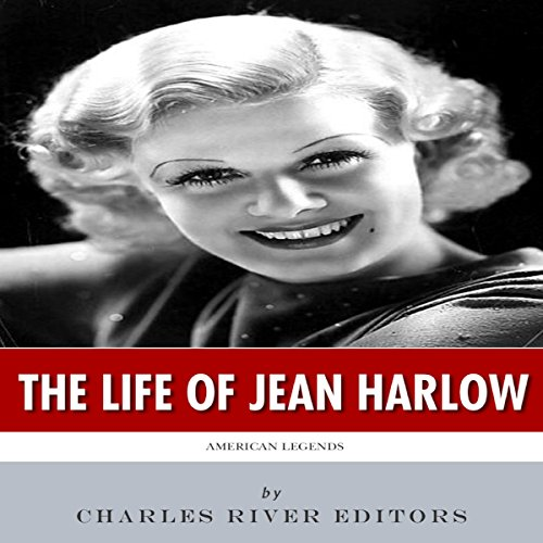 American Legends: The Life of Jean Harlow audiobook cover art