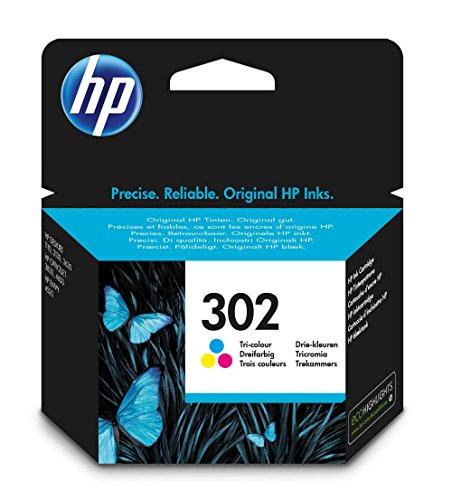 HP Inc. Ink 302 C/M/Y, F6U65AE#BA3