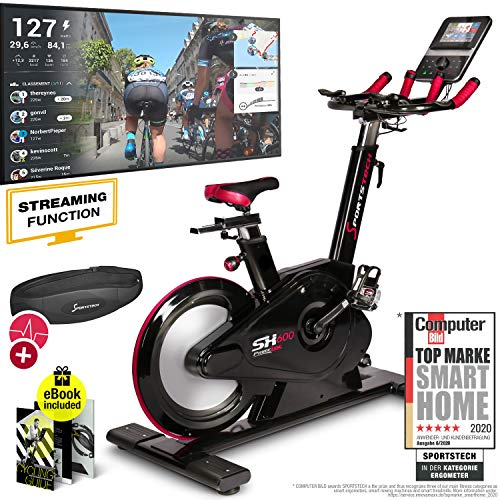 Sportstech Elite Indoor Cycle Bike - German quality brand - Video Events & Multiplayer...