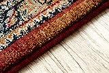 Teppich Wolle KESHAN Ornament orientalisch 7518/53528 beige/dunkelblau 250x350 cm beige - 3