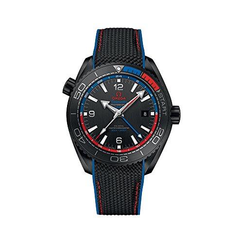 Omega Seamaster Planet Ocean 600M Omega Co-Axial Master Chronometer GMT 45,5 mm ETNZ Deep Black 215.92.46.22.01.004