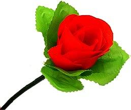 Enjoyer Folding Appearing Rose Flower Magic Tricks Magician Gimmick Illusion Stage Close Up Magic Props,5 Pcs/Lot