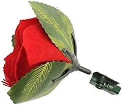 magicswizz Brand Amazing Toy Match to RED Rose Flower Flame Pocket Magic Trick Light Stage Street Change $