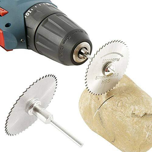 YUQIYU 42pcs / set sierra rueda de diamante de sierra grupo de hojas sueltas y la herramienta rotativa varilla de perforación
