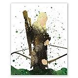 Legolas Art Poster – Herr der Ringe – Orlando Bloom –
