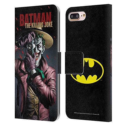 Head Case Designs sous Licence Officielle Batman DC Comics The Killing Joke Couvertures Célèbres De Livre Comique Coque en Cuir à Portefeuille Compatible avec Apple iPhone 7 Plus/iPhone 8 Plus