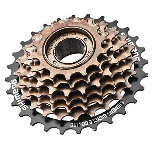 ZHAOFENGMING Rueda Libre para Bicicleta Individual, Accesorios 7 Velocidades 14-28T Rueda Bicicleta, Dentada Accesorio De Repuesto Montaña, MTB, Carretera