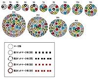 富士電線工業 ビニル絶縁ビニルシースキャブタイヤ丸型コード 30m巻 切断品 VCT-F 2SQX 3C