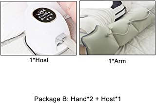 Leg Air Compression Massager with 10 Intensities Air Compression Massage for Foot & Calf & Thigh Massage with Timing Funct...