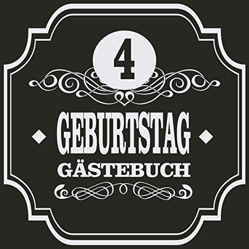 4 Geburtstag Gästebuch: Cooles Geschenk zum 4. Geburtstag Geburtstagsparty Gästebuch Eintragen von...