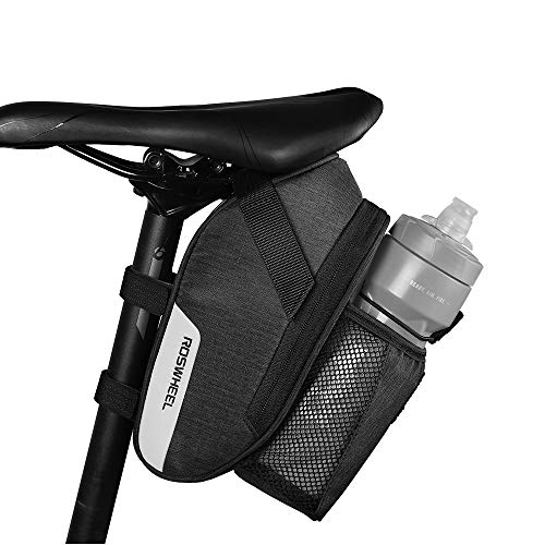 COTEetCI Bicycle Saddle Bag with Water Bottle Pocket Bike Saddle Bag Under Seat MTB Bike Accessories...