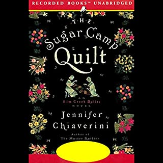 The Sugar Camp Quilt                   By:                                                                                                                                 Jennifer Chiaverini                               Narrated by:                                                                                                                                 Christina Moore                      Length: 9 hrs and 52 mins     330 ratings     Overall 4.5