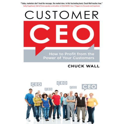 Customer CEO audiobook cover art