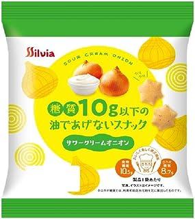 糖質10g以下の油であげないスナック サワークリームオニオン ×12袋