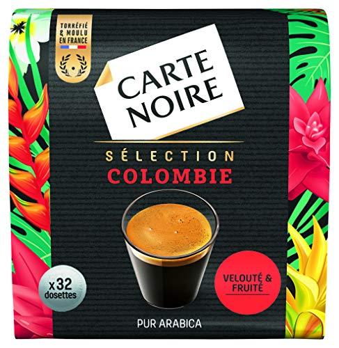 petit un compact Cartenoir – Dosette de café Columbia Selection – 32 capsules espresso flexibles
