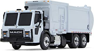 First Gear 1/87 Scale Diecast Collectible White Mack LR with McNeilus ZR Side Loader (80-0332)
