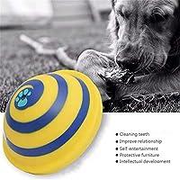 GBBG 犬用の噛み玩具、グライダーのきしむ音、おもちゃの鳴き声、ディスクの安全な楽しみ(Multi)