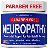 Neuropathy Nerve Relief Cream - Maximum Strength Relief Cream for Feet, Hands, Legs, Toes Reliever, Ultra Strength Arnica, MSM, Menthol, Soothing, Fast-Acting Anti-Inflammatory - Medium 2 oz