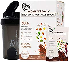 AndMe Women's Protein- Plant Based Protein With 45 Natural Herbs, Multivitamins and Amino Acids, Whey Free, Soy Free, Choc...