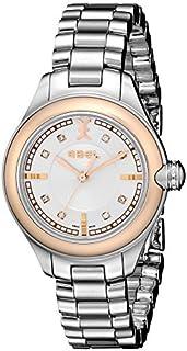 Ebel - Mujer 1216094 Onde diamond-accented acero y oro rosa reloj por Ebel