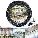 Tencoz Nebulizzatore Giardino, 10M Nebulizzatore da Esterno Sistema Irrigazione Giardino, ...