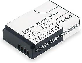 subtel® Batería Premium Compatible con Canon EOS M, EOS M2
