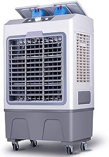 MAOMAOQUEENss Aire Acondicionado Portátil – 3 En 1: Ventilador, Humidificador, Ventilación,aircooler para Casa Habitaciones,30 Metro Cuadrado,aumente La Salida De Aire,Tanque De Agua: 40l,Grey