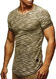 Leif Nelson Men's T-Shirt crew neck | Short-armed oversized shirt | Basic casual shirt for Men | Comfortable Shirt