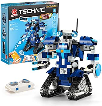 405+ Pieces CIRO Almubot Battlefield I Remote Controlled Robot