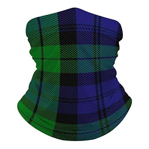Campbell Tartan-1 Neck Gaiter Mask Cooling Summer Face Cover Scarf Protection Breathable Bandana Seamless Balaclavas Headband for Dust Outdoors Fishing Sports Running