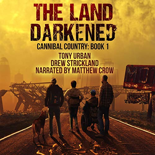 The Land Darkened  By  cover art
