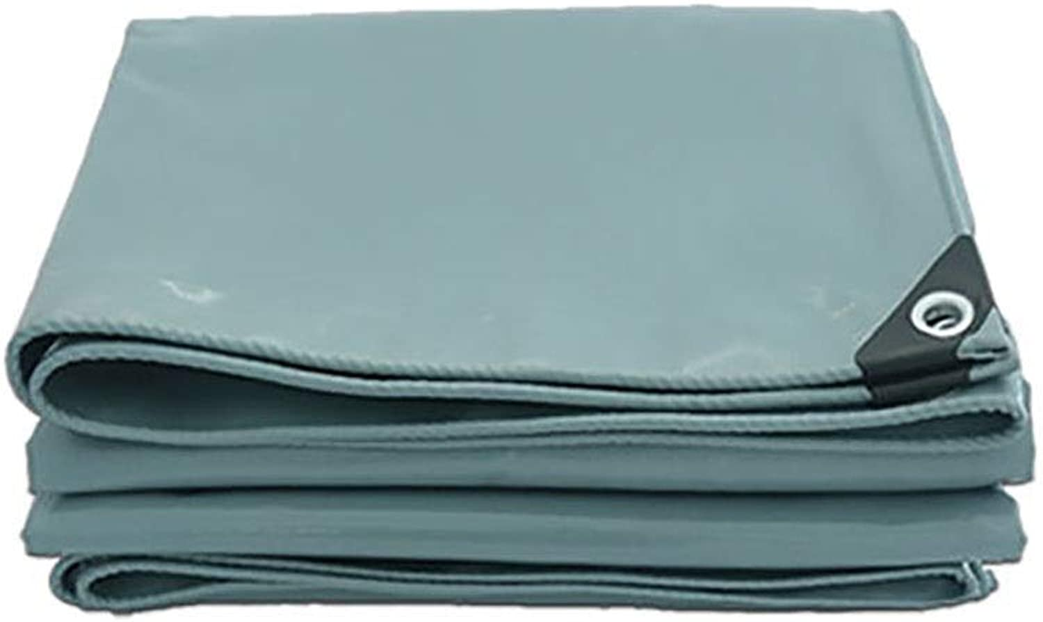 YXX Heavy Duty Tarpaulin Cover for Furniture, Outdoor Waterproof Poly Tarps Tent Splice Awning Sun Shade  500 G M2 (Size   4mx6m)