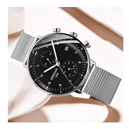 JYTFZD YANGHAO-Reloj de Pulsera- Reloj de Moda de los Hombres Tendencia 2021 Nuevo Concepto Mire el Reloj mecánico Impermeable multifunción (Color: E) OUZDNSSB-5 (Color : D)