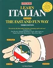 Learn Italian the Fast and Fun Way (Fast and Fun Way Series)