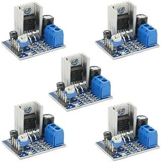 XLX 5PCS TDA2030A Digital Audio Power Amplifier Board Module Power Input Mode 6-12V Speakers Audio Amplifier Module Conver...