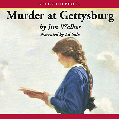 Murder at Gettysburg audiobook cover art