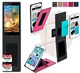 reboon Hülle für Siswoo R8 Monster Tasche Cover Case Bumper | Pink | Testsieger