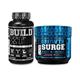 Build-XT Daily Muscle Builder Supplement, Growth Surge Post Workout Recovery & Muscle Growth