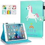 MOKASE Funda para iPad Mini, Mini 2/3/4/5, funda de piel con función atril inteligente, funda...