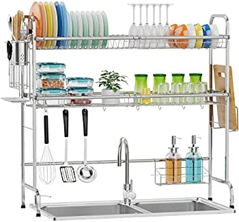 Packism 2 Tier Stainless Steel Over Sink Rack