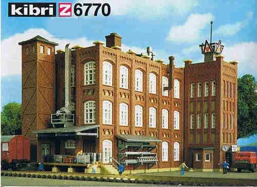 Kibri 6770 - Fabrik aus Gründerzeit