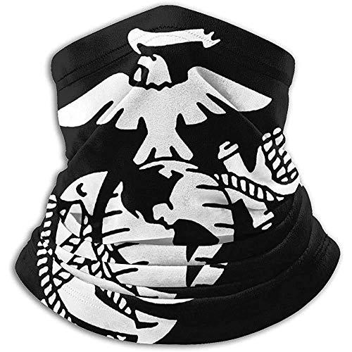 NA Multifunktionaler Halstuch, elastischer Turban, Unisex-Halswärmer, Winter-Handschal, Usmc Marine Corps Eagle Herren/Damen Stirnbänder, Kopfbedeckung, Schlauchschal, winddichter Gesichtsschal