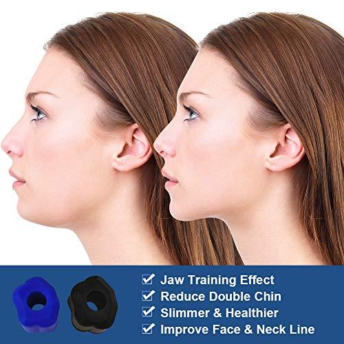 Jaw Trainer, Jawline Trainer, Kiefer Training, Gesichtsstraffer, Gerät Zum Kräftigen Und Straffen des Kiefer- Und Halsbereichs, Definieren Sie Ihre Kieferlinie