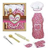 Set di grembiuli da cucina per bambini