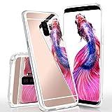 moex Mirror Case kompatibel mit Samsung Galaxy S9 Plus