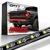 OPT7 60' Redline LED Tailgate Light Bar - TriCore LED - Weatherproof Rigid Aluminum No-Drill Install - Full Featured Reverse Running Brake Turn Signal