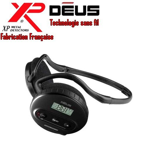 XP Metal Detectors–Detector de metales Deus–Auricular inalámbrico WS4