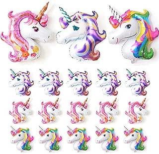 FenyGo Unicorn Balloons Pack(18pcs) - 3pcs 43