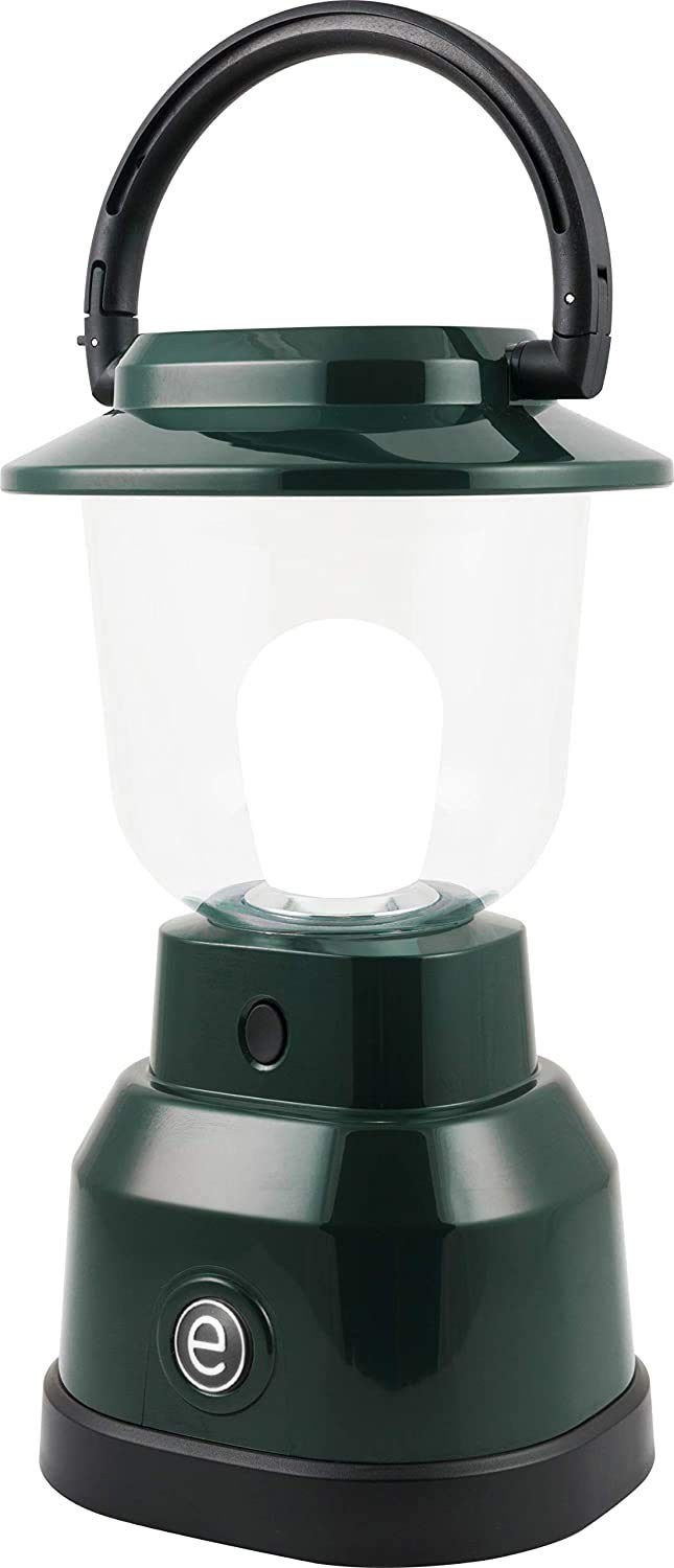 Enbrighten 11016 LED Lantern Max 86% OFF Popular brand in the world Battery Operated White Bright Fin